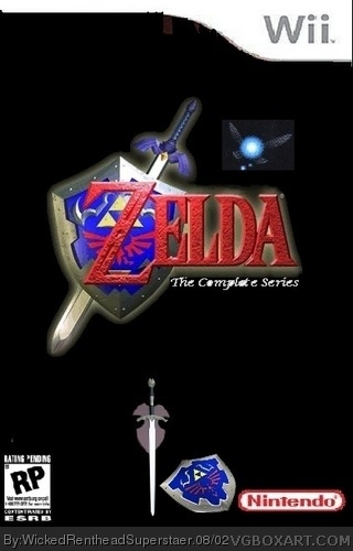 Zelda The Complete Series box cover