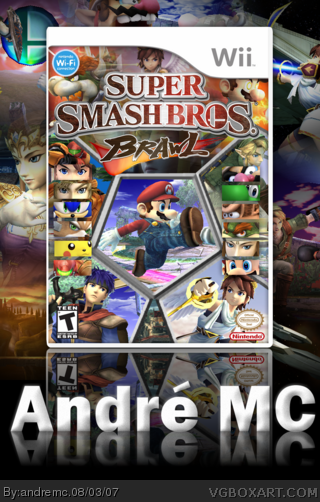 Super Smash Bros. Brawl box art cover