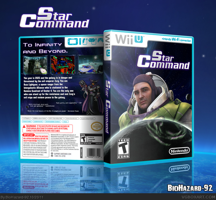 Star Command box art cover
