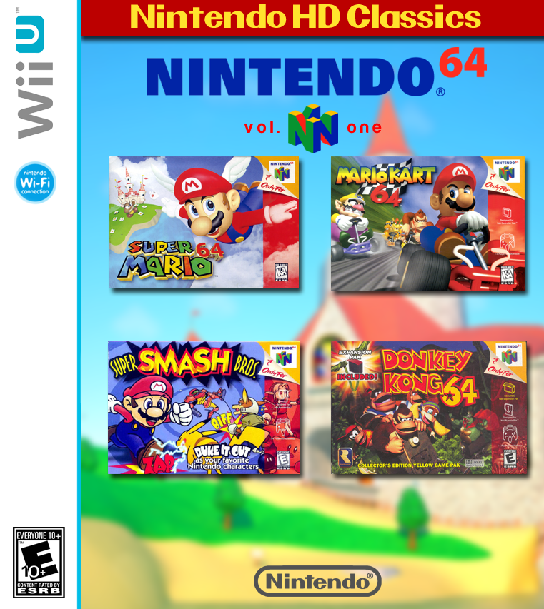 Nintendo HD Classics: Nintendo 64 Vol. 1 box cover
