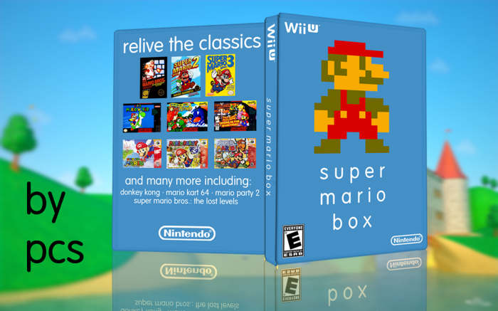 Super Mario Box box art cover