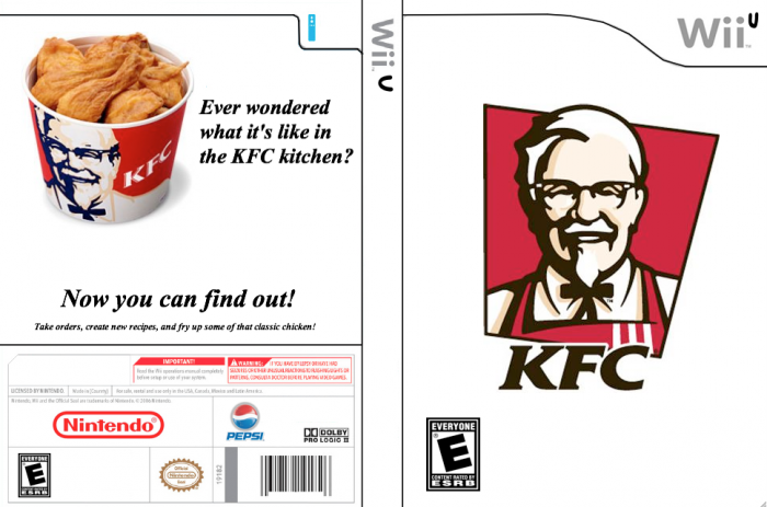 Kentucky Fried Chicken box art cover