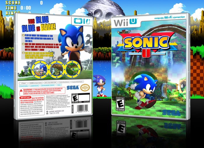 Sonic U box art cover