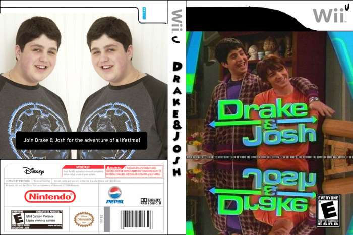 Drake & Josh: The Game box art cover