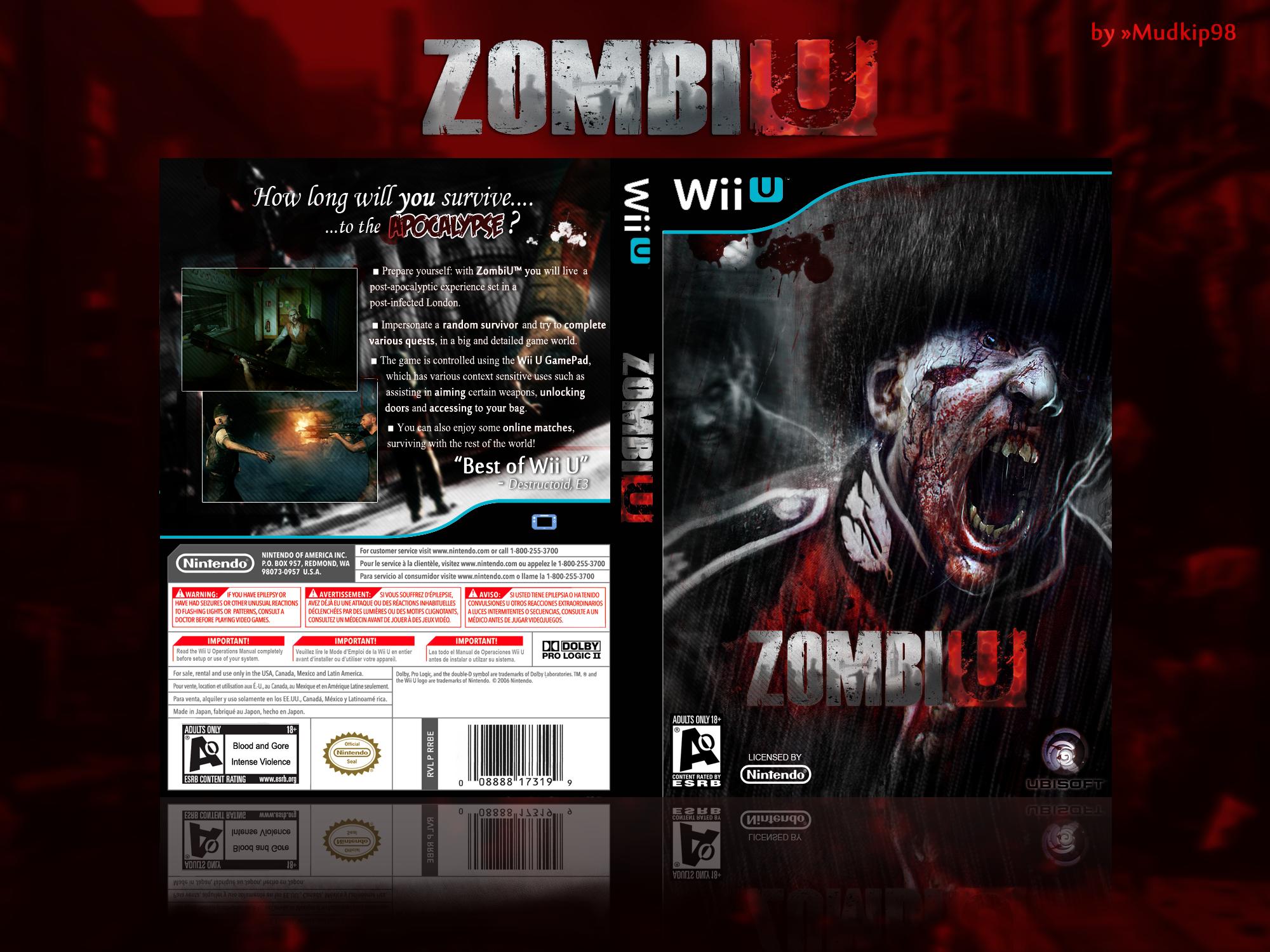 Wii U Box Art Cover