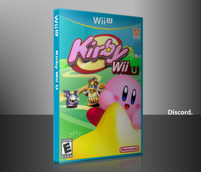 Kirby Wii U box art cover