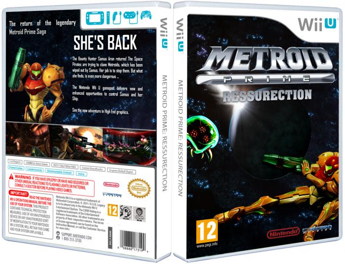 Wii U » Metroid Prime: Ressurection Box Cover