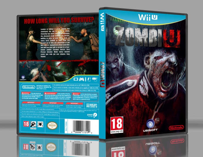 ZombiU box art cover