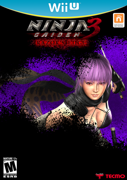 Ninja Gaiden 3 Razors Edge Wii U Box Art Cover By Virallight