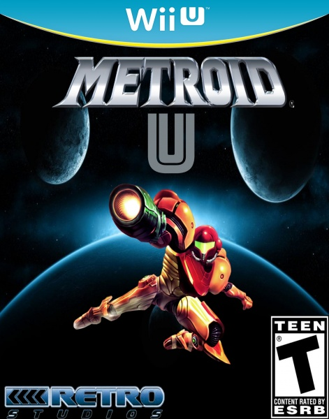 metroid U box art cover