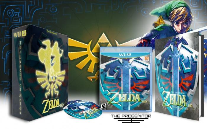 Wii U » The Legend of Zelda HD Box Cover