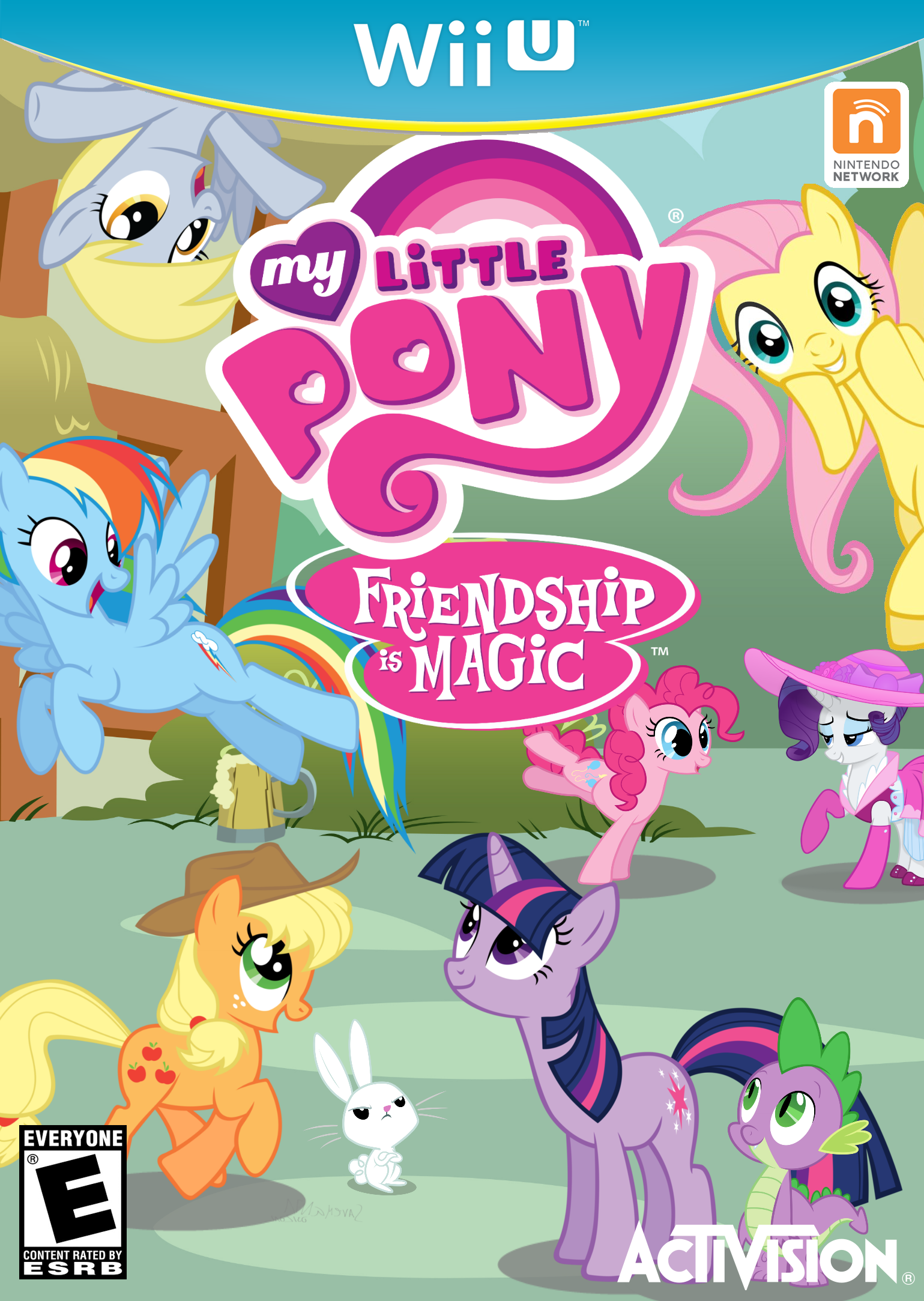My Little Pony: Friendship is Magic Wii U Box Art Cover by ...