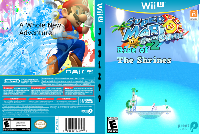 Super Mario Sunshine 2 confirmed (Expired April Fools Day