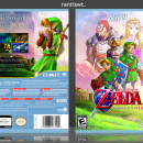 The Legend of Zelda: Ocarina of Time HD Box Art Cover