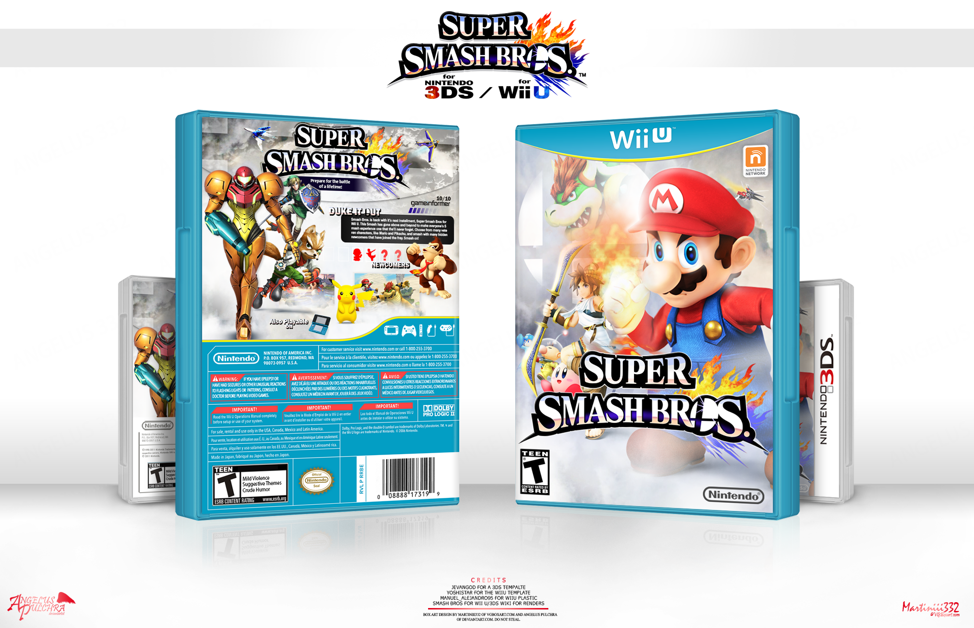 Super Smash Bros. box cover