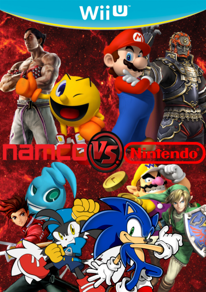 Namco VS. Nintendo box art cover
