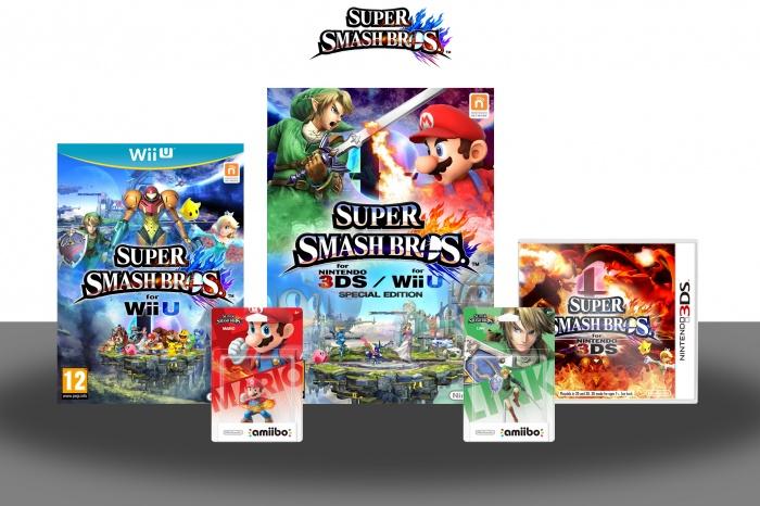 Super Smash Bros. Wii U Box Art Cover by TheTombRaider