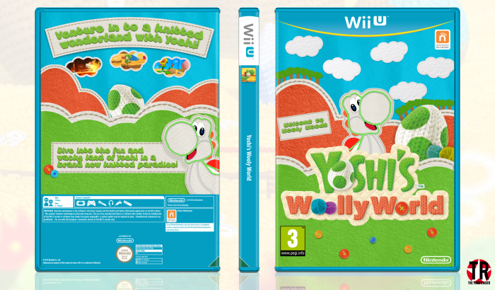 Yoshi's Wooly World box art cover