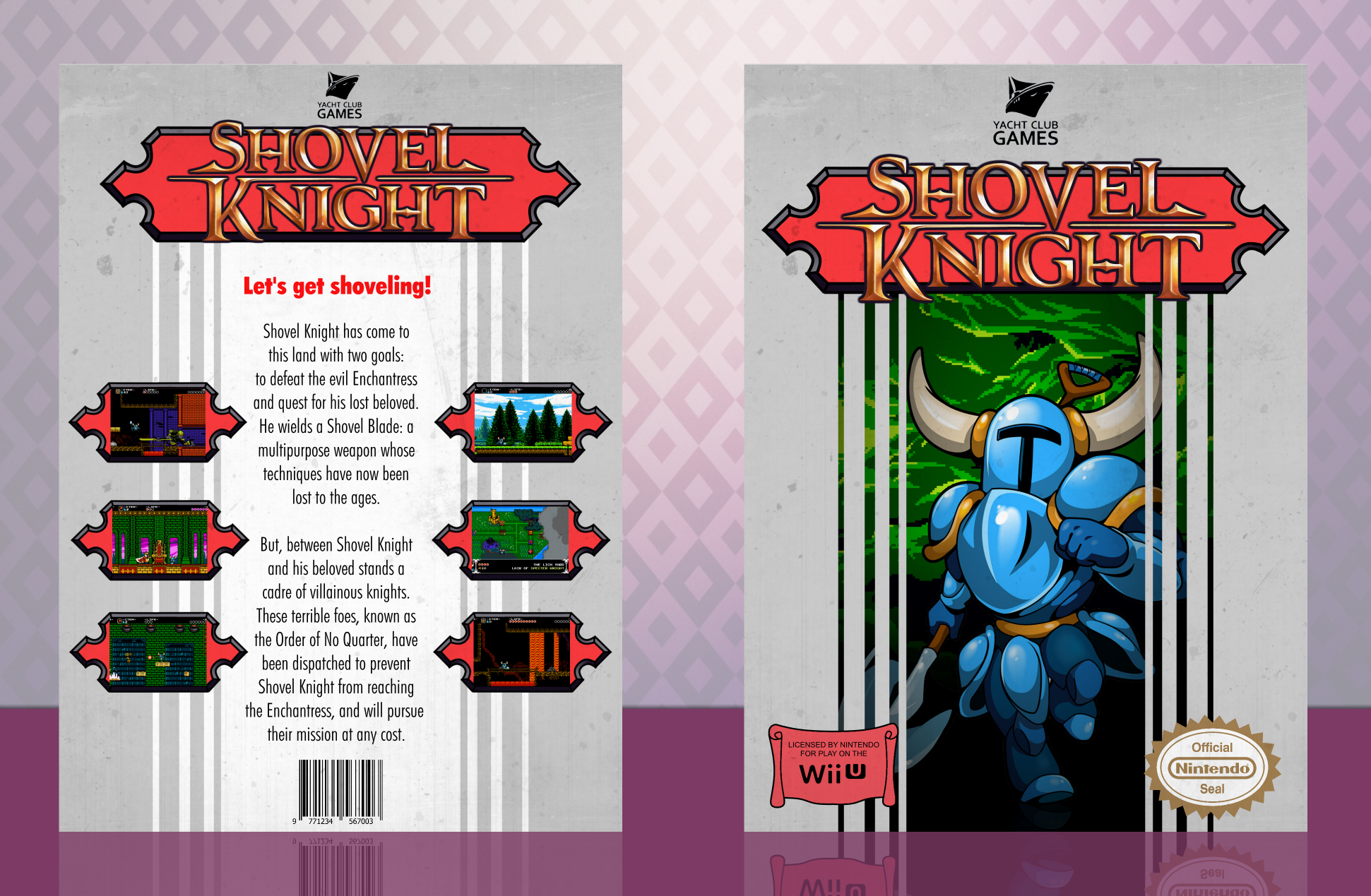 Shovel Knight box cover