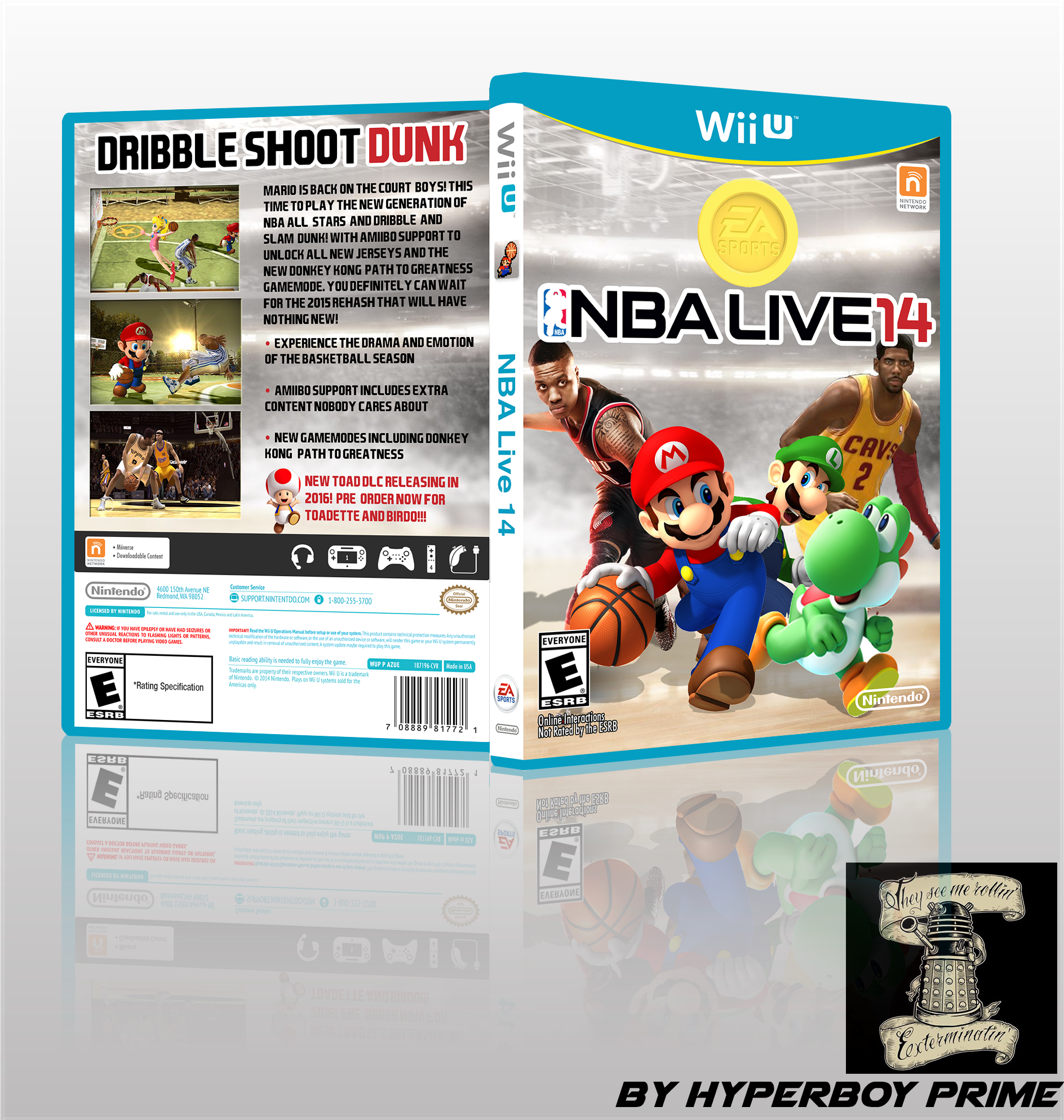 NBA Live 14 box cover