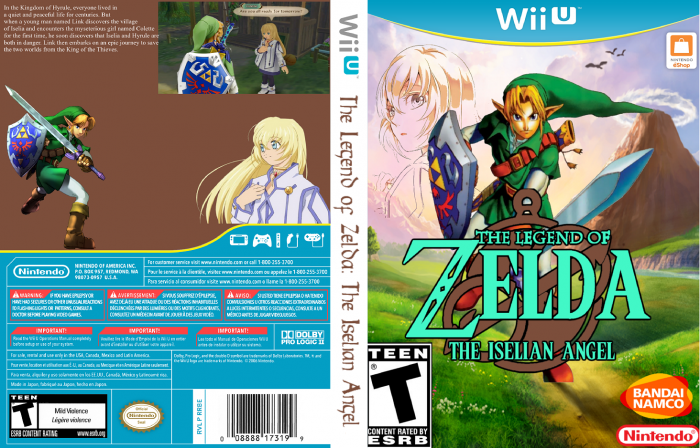 The Legend of Zelda: The Iselian Angel box art cover