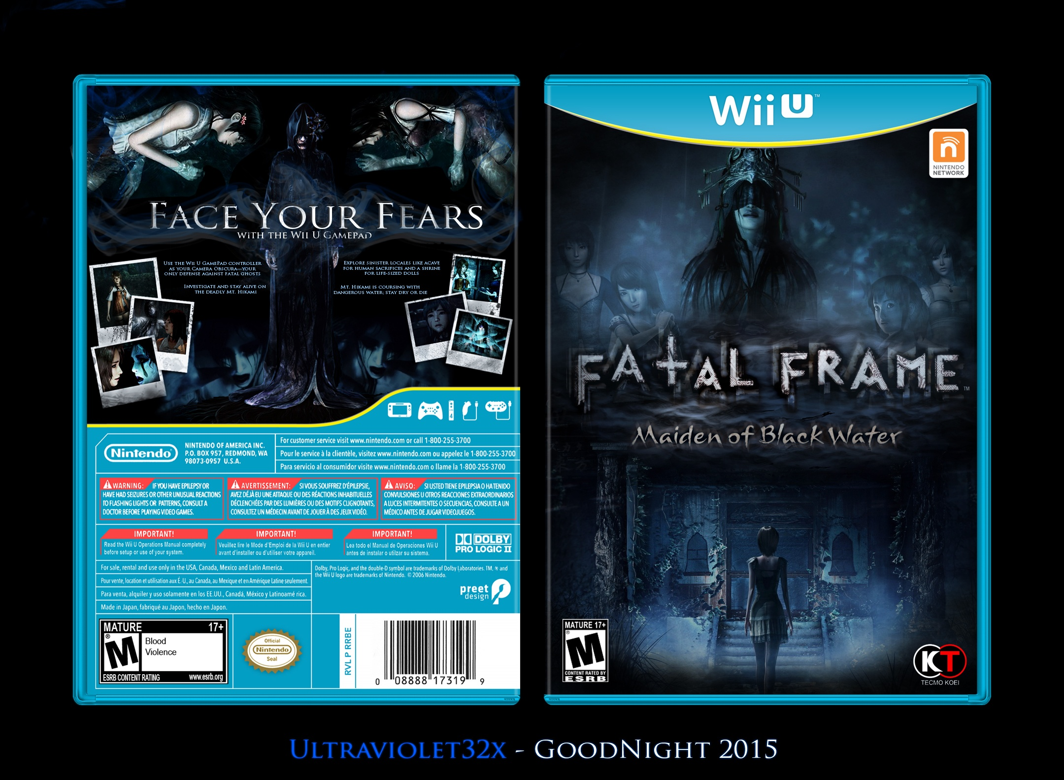 Viewing full size Fatal Frame: Maiden of Blackwater box cover