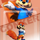 Conker Amiibo Box Art Cover