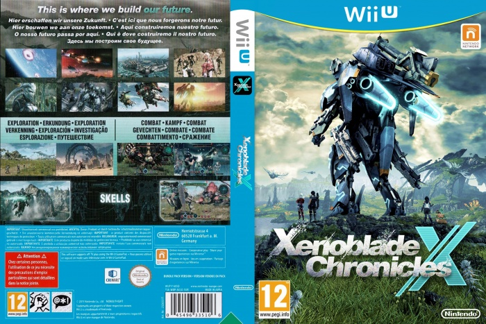 Xenoblade chronicles 3ds box art