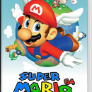 Super Mario 64 for Nintendo Switch Box Art Cover