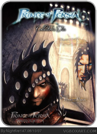 Prince of Persia: Collector's Tin box cover