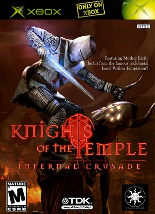 Xbox » Knights of the Temple Box Cover