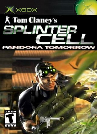 Tom Clancy S Splinter Cell Pandora Tomorrow Xbox Box Art
