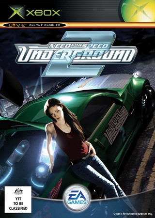 Need For Speed Underground 2 Xbox Box Art Cover By Mxlegend99
