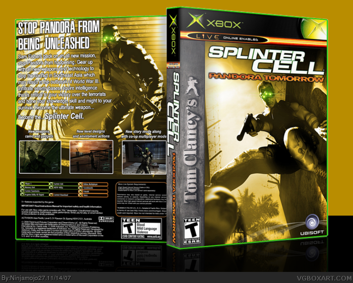Tom Clancy's Splinter Cell Pandora Tomorrow (RIP) 12424-tom-clancys-splinter-cell-pandora-tomorrow