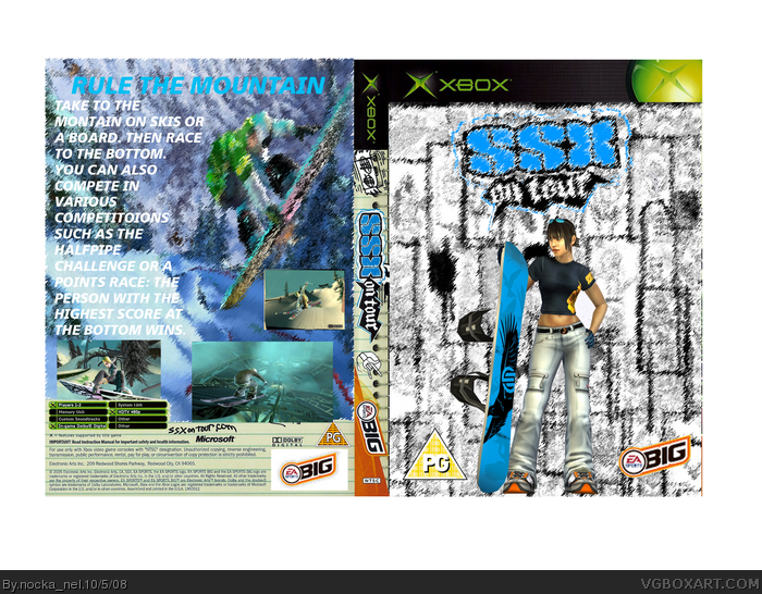 SSX on Tour box art cover