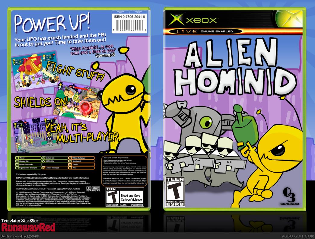 JTAG/RGH XBOX RIP) Alien Hominid