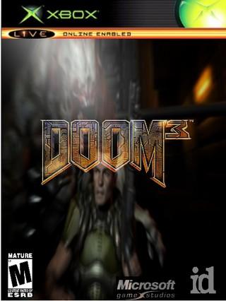 Xbox » Doom 3 Box Cover