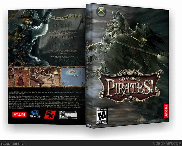 Sid Meier's Pirates! box art cover