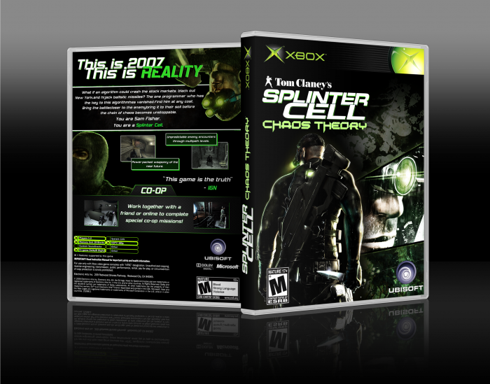 Tom Clancy's Splinter Cell: Chaos Theory box art cover