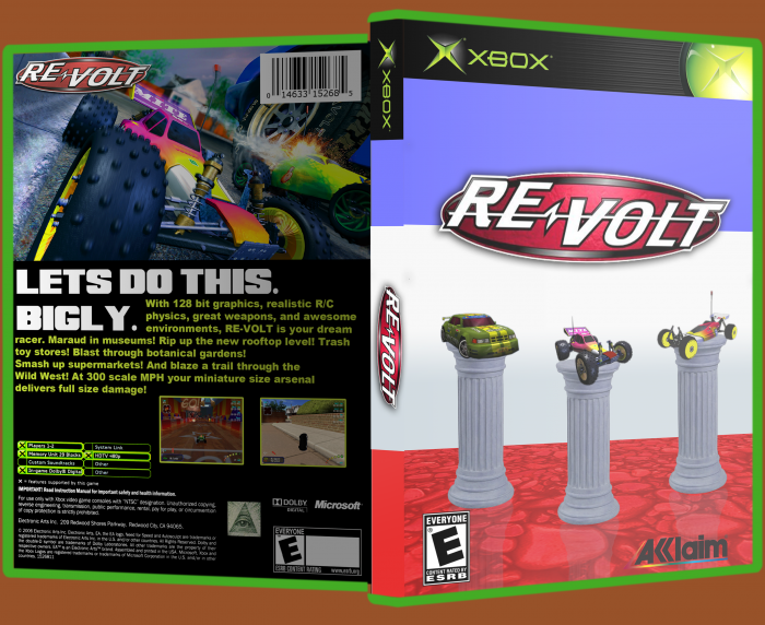 Re-Volt box art cover
