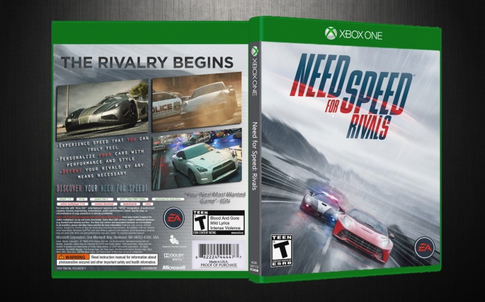 Xbox One » Need for Speed: Rivals Box Cover