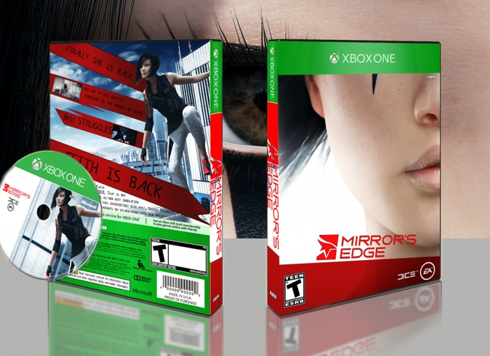Mirror 39 s edge 2 xbox one box art cover by mehrdadjoon for Mirror xbox one