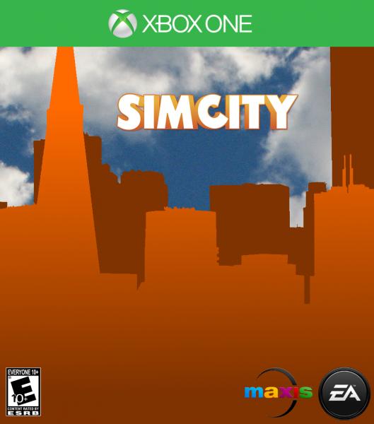 Xbox One Box Art SimCity Xbox One Box A...