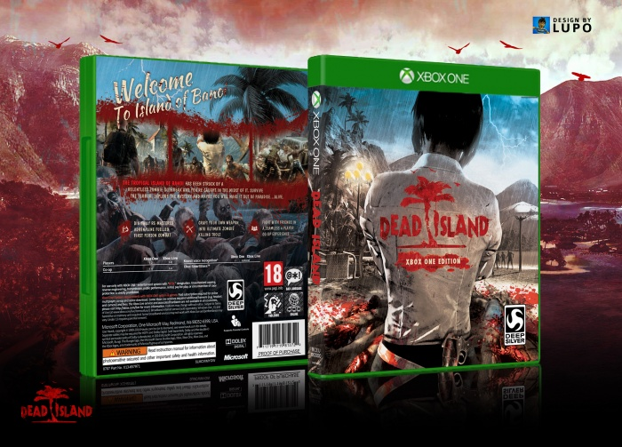 Dead Island Xbox one Edition box art cover