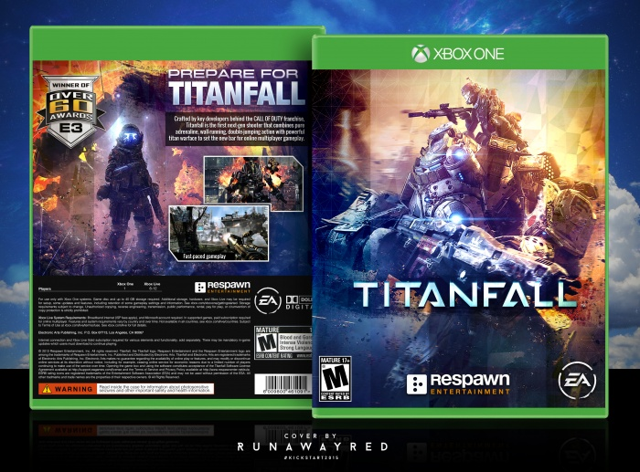 Titanfall Xbox One Box Art Cover By Runawayred