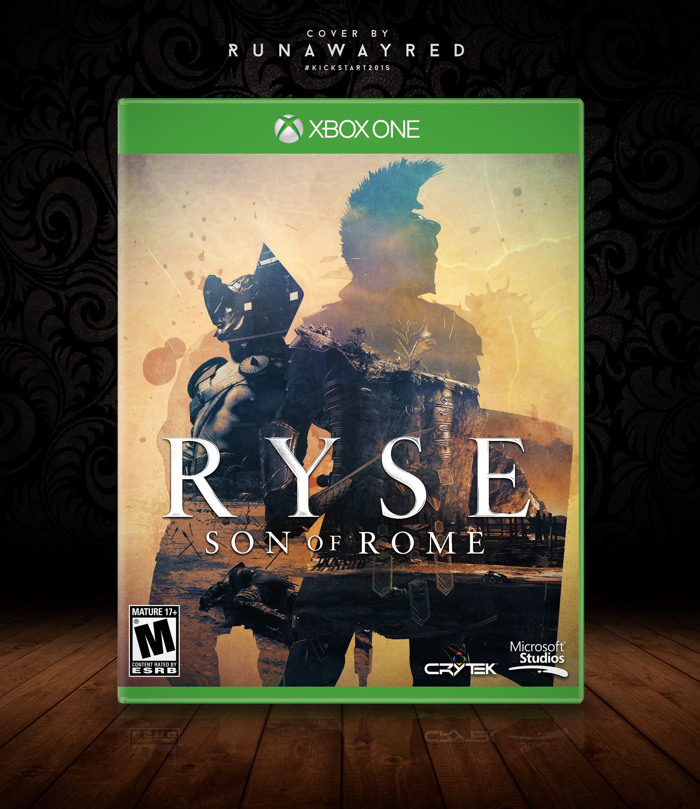 Ryse: Son of Rome box cover