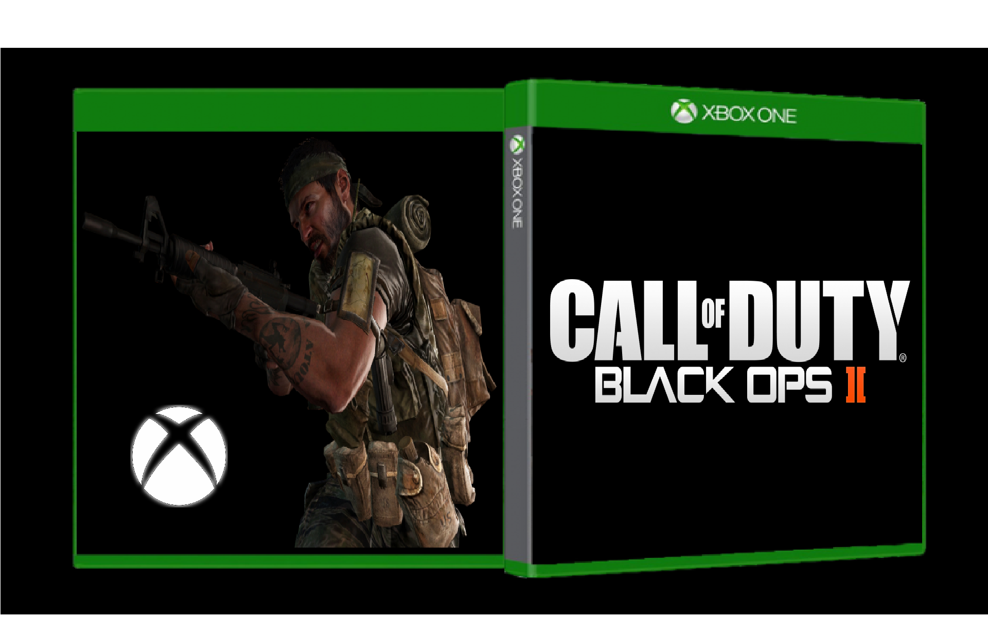Viewing Full Size Call Of Duty Black Ops II Box Cover