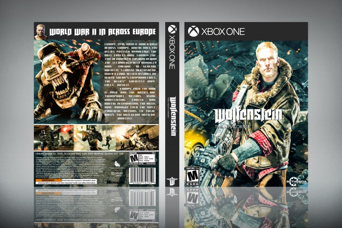 Wolfenstein: The New Order box art cover