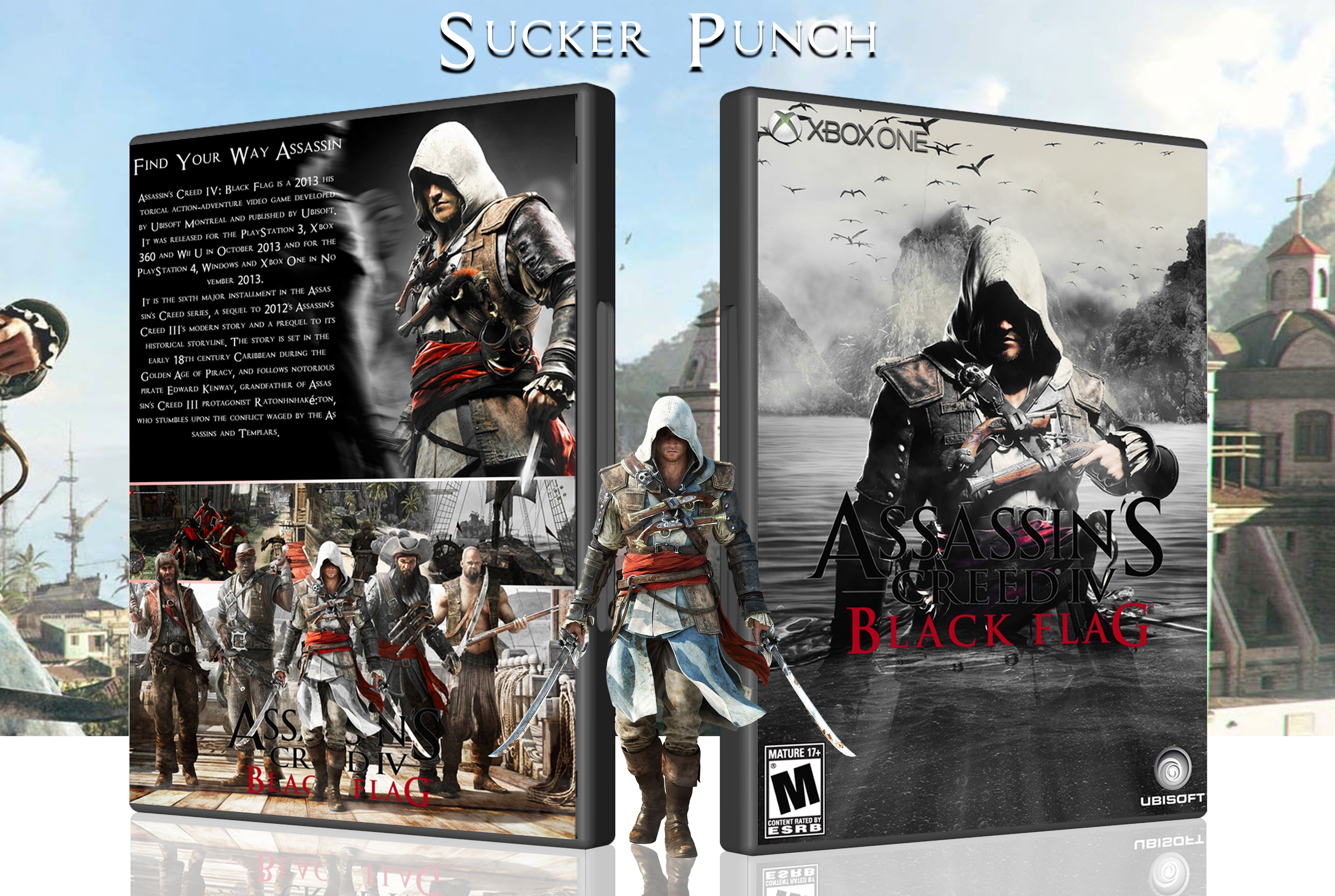 Assassin's Creed IV Black Flag box cover