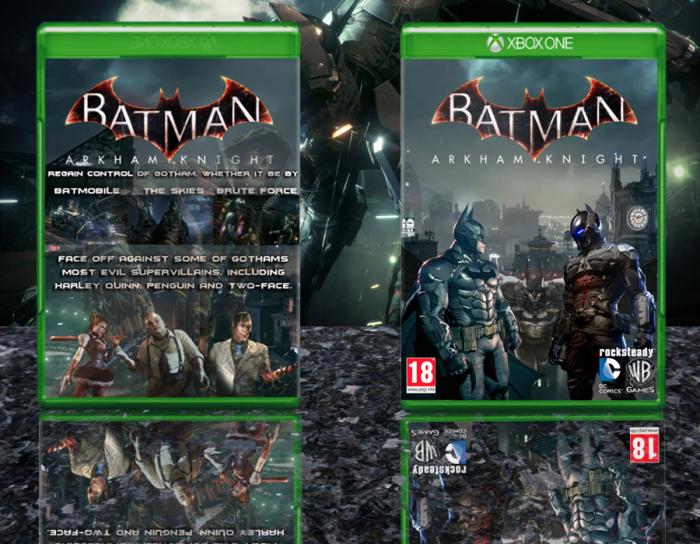 Batman: Arkham Knight Xbox One Box Art Cover by OGCEPUK